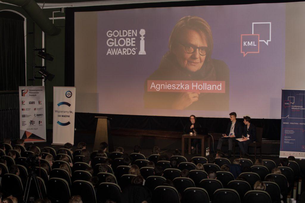 Agnieszka Holland – President, European Film Academy, Golden Globe laureate