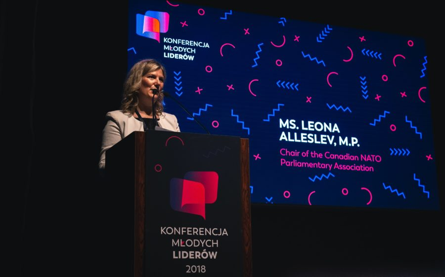 Leona Alleslev – Chair, Canadian NATO Parliamentary Association